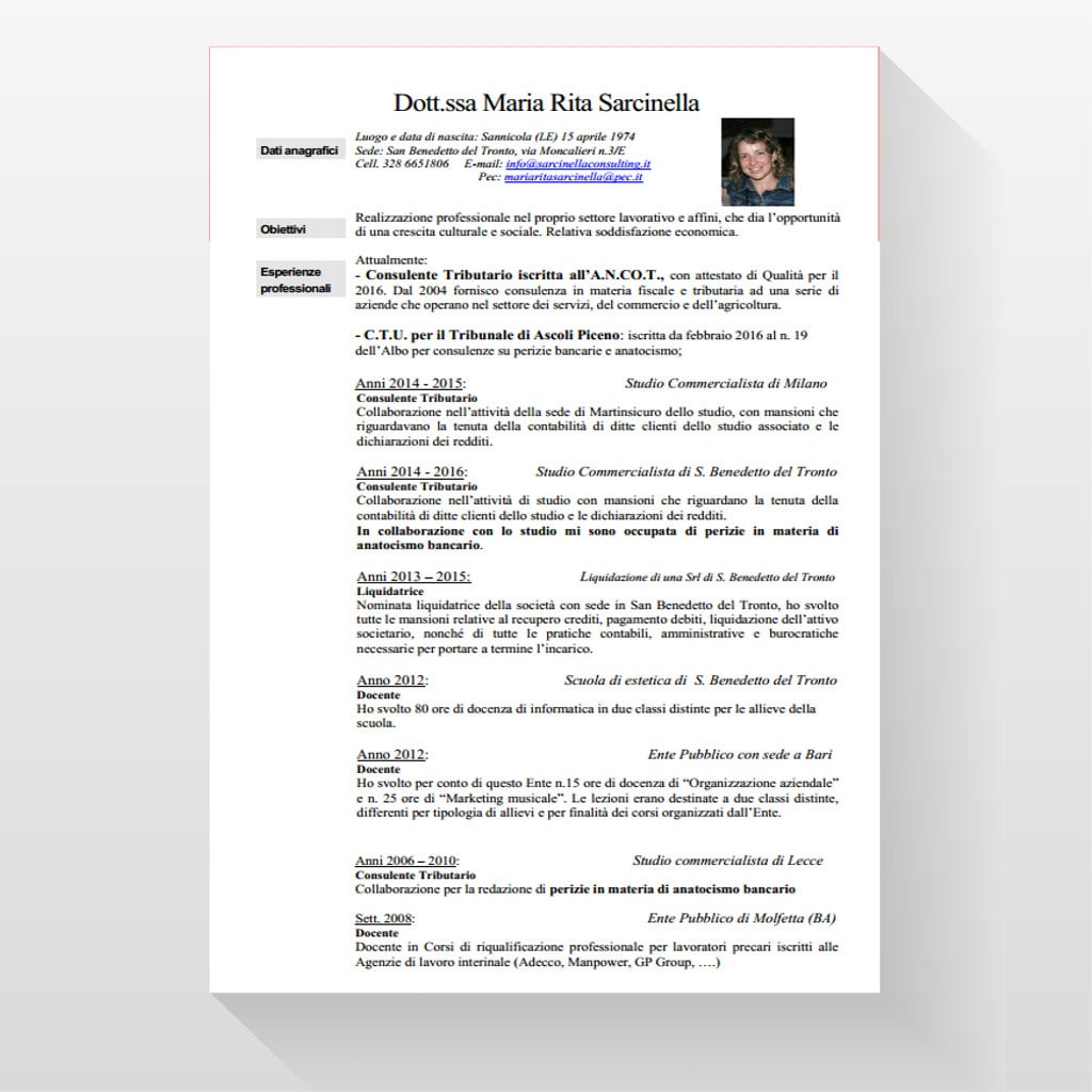 Lo Studio – Sarcinella Consulting – Tributario Fiscale Bancario